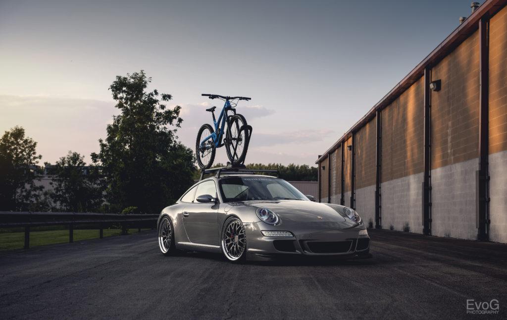Porsche 997 Carrera S in silvergrau