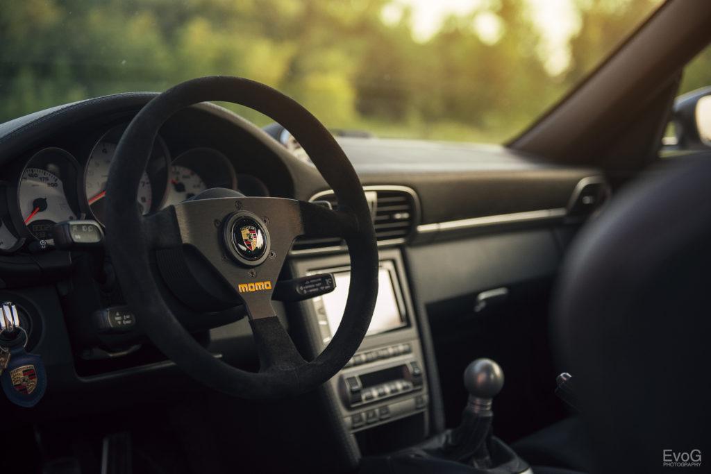 Porsche 997 Carrera S in silbergrau