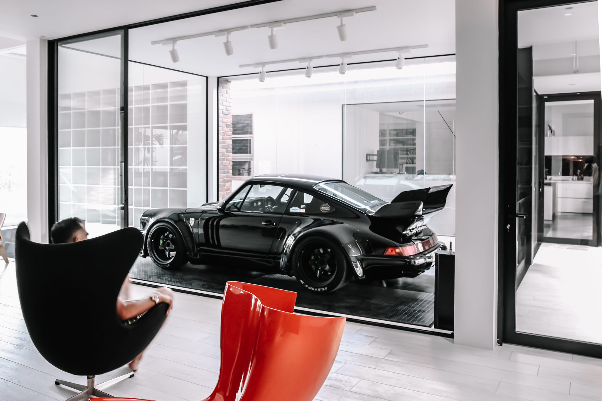 The Ultimate Dream Dwelling of Every Car Lover