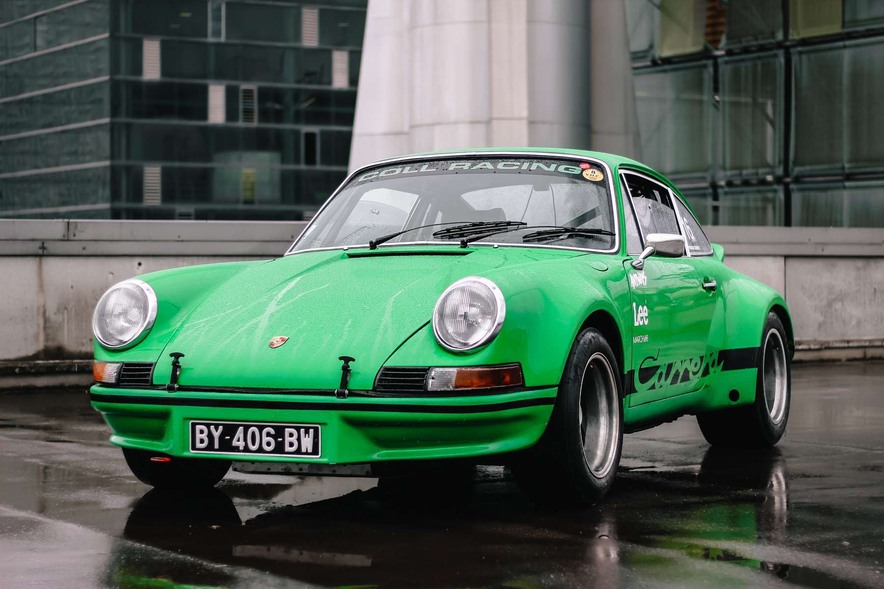 The Pleasure Of Driving A Racing Porsche: Olivier And His Viper Green 1973 911 2.8 RSR