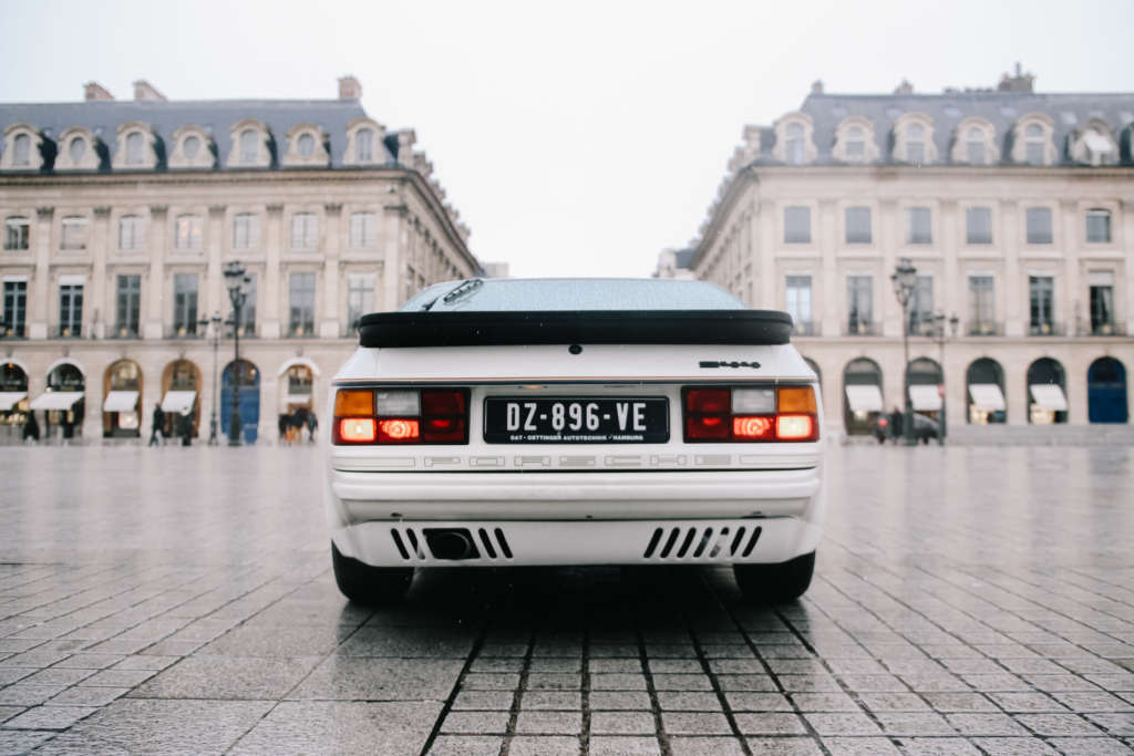 Porsche 944 Rothmans in white