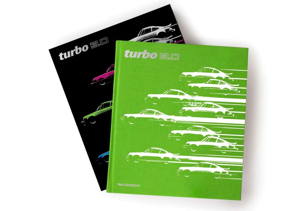 Porsche Book LIMITED EDITION Turbo 3.0 Book by Ryan Snodgrass