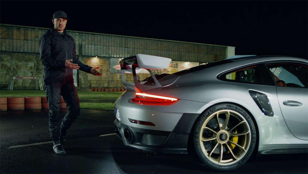 Porsche 911 GT2 RS in silver