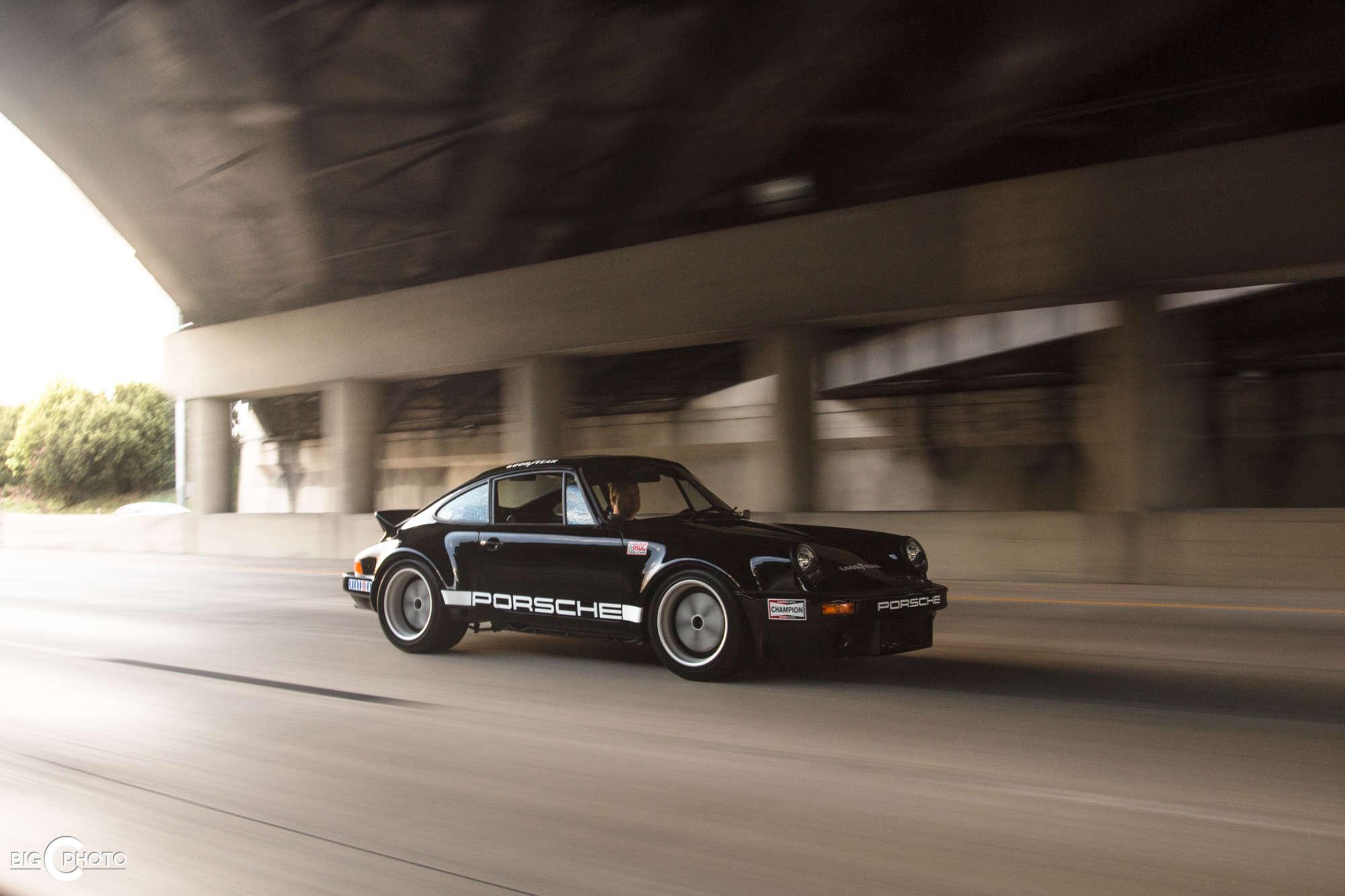 An IROC Porsche 911 RSR Reminiscence