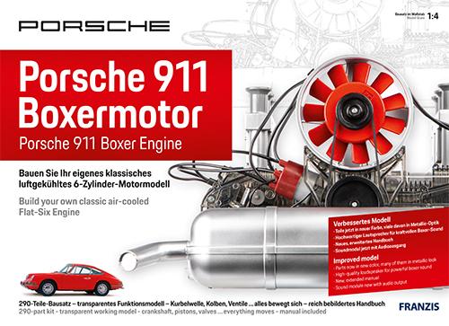 porsche motor bausatz 911