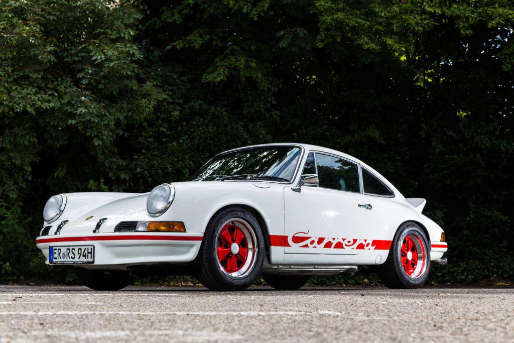 Porsche 911 Carrera RS weiß