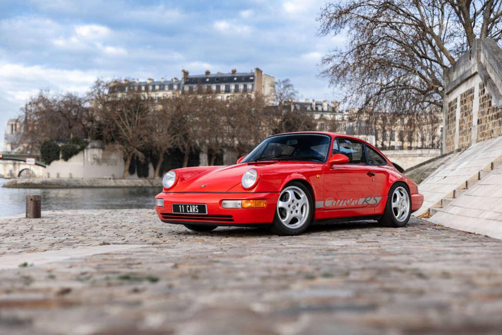 Porsche 964 RS red