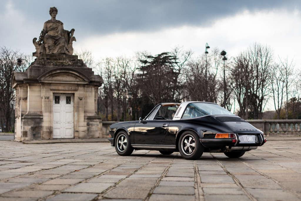 Porsche 911S Targa black