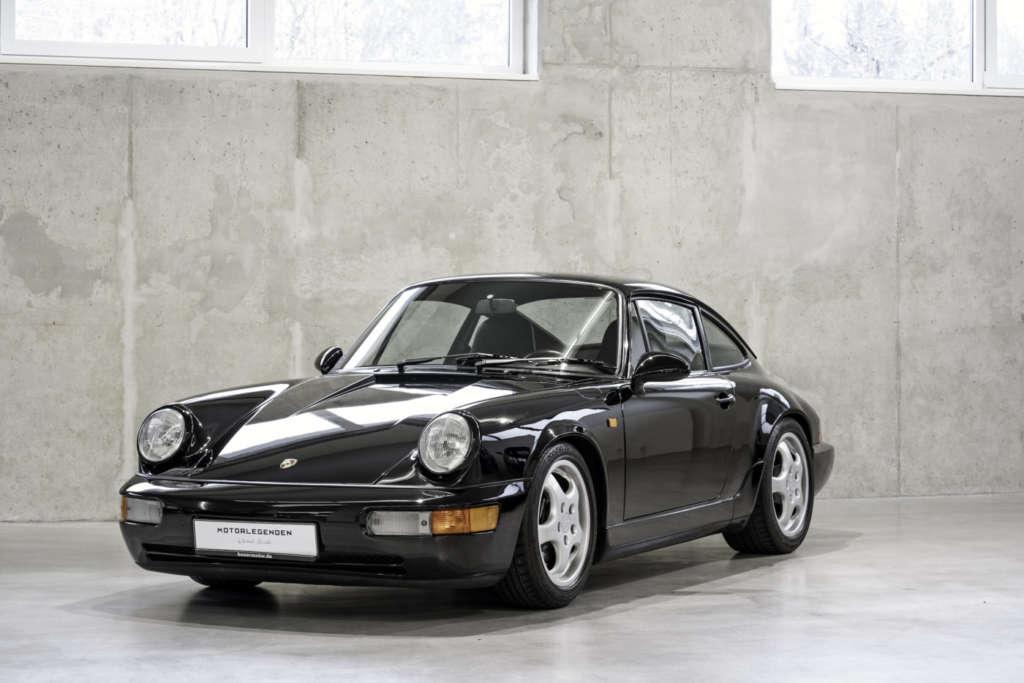 Porsche 964 RS black