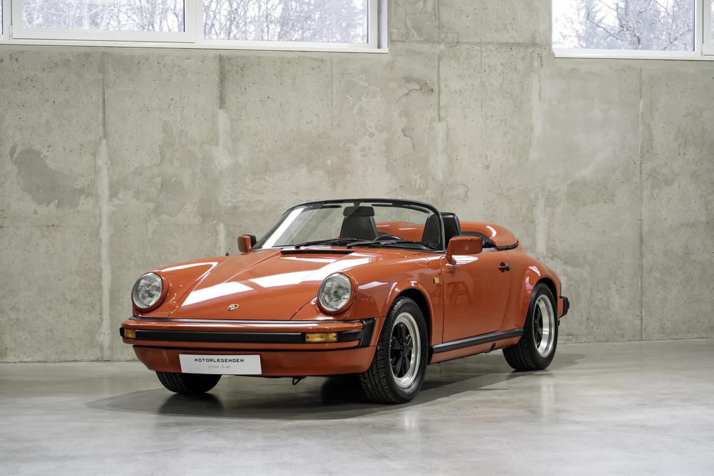 Primus inter pares – Der schmale 911 Carrera 3.2 Speedster