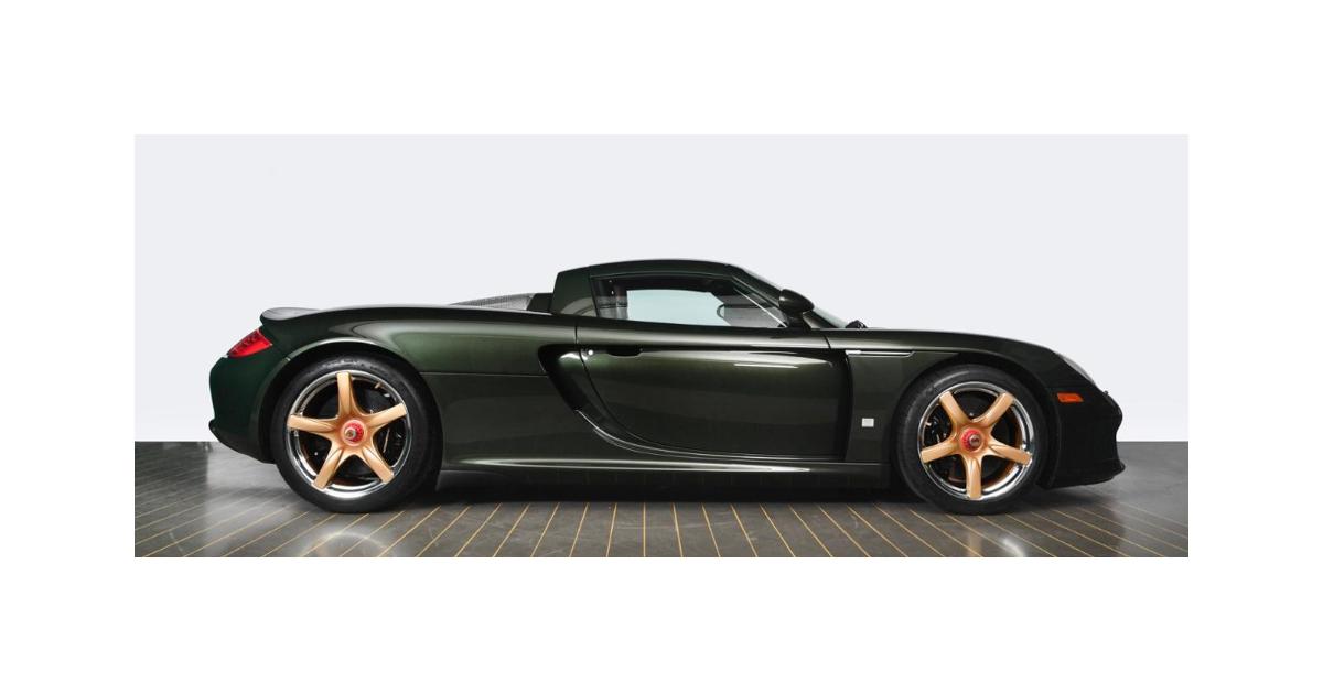 Besser als neu – Der grüne Porsche Carrera GT