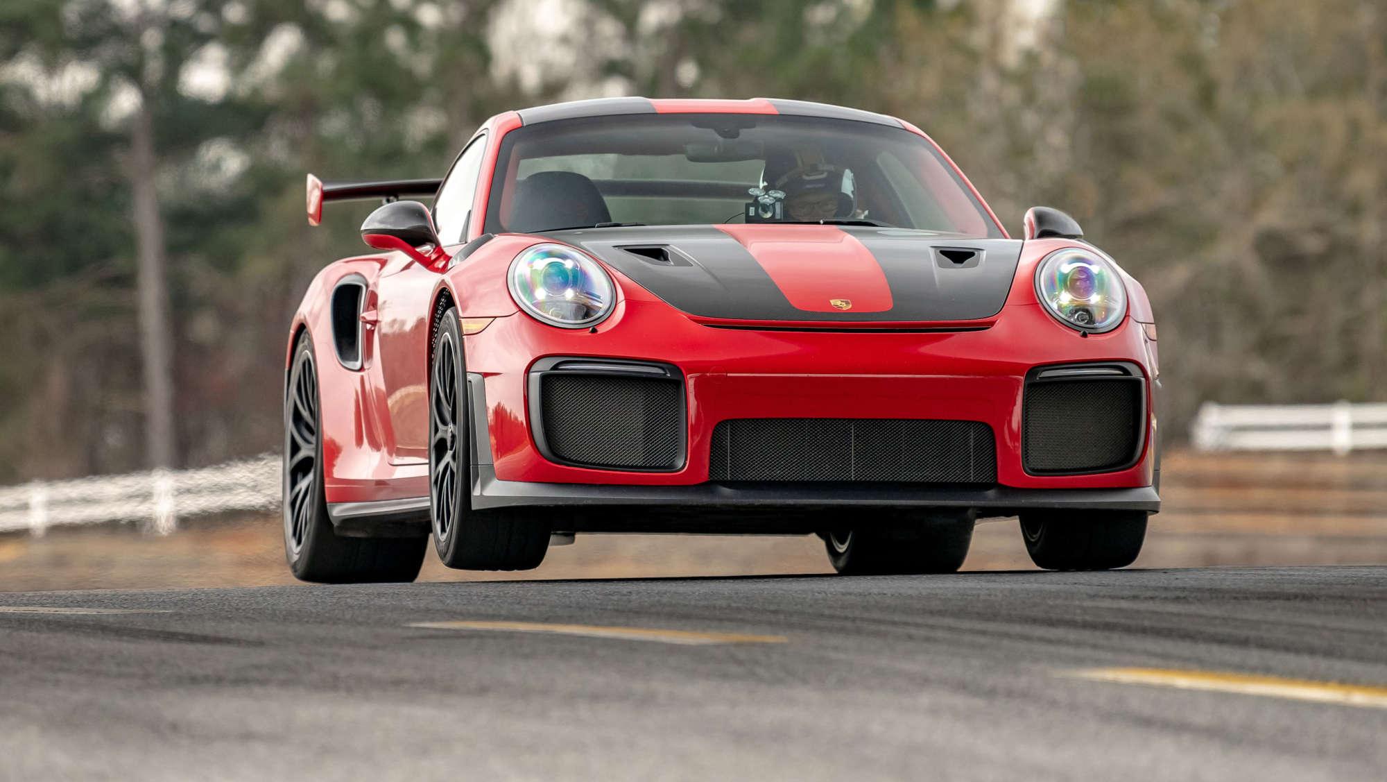 Porsche 911 GT2 RS breaks lap record at Road Atlanta
