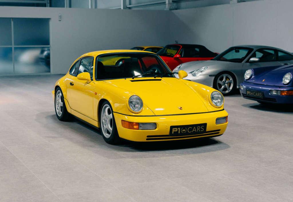 Porsche 964 Carrera RS kaufen in gelb