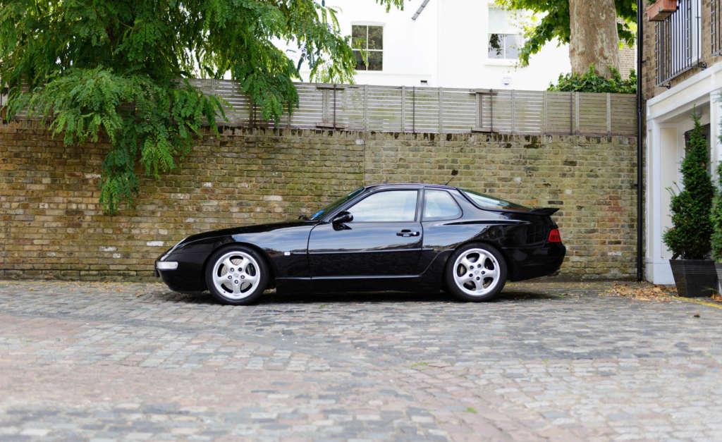 Porsche 968 for sale in black