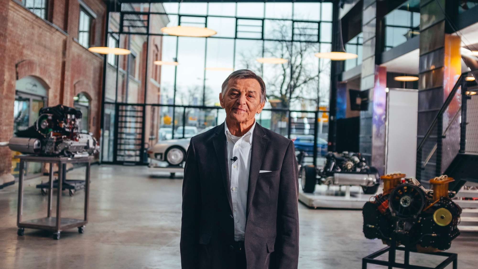 The story of Porsche's engine mastermind Hans Mezger