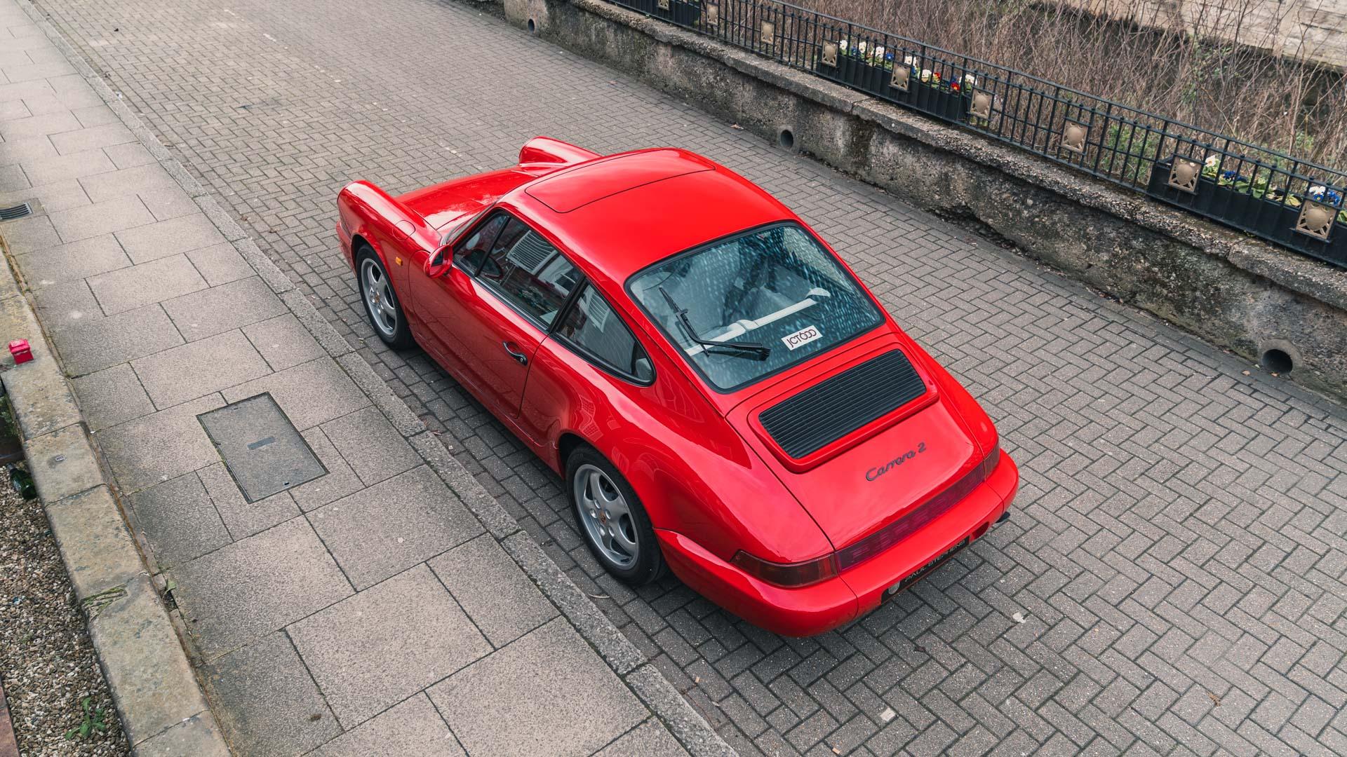 Paul Stephens Porsche 964 C2 Heck Rückansicht Coupe