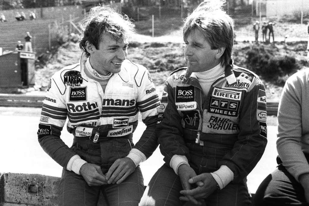 Bellof Winkelhock together 1984