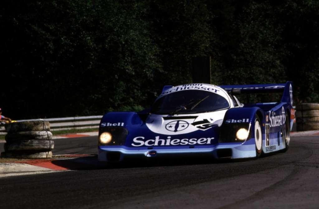 Stefan Bellof Brun Porsche 962 Spa Francorhamps 1985
