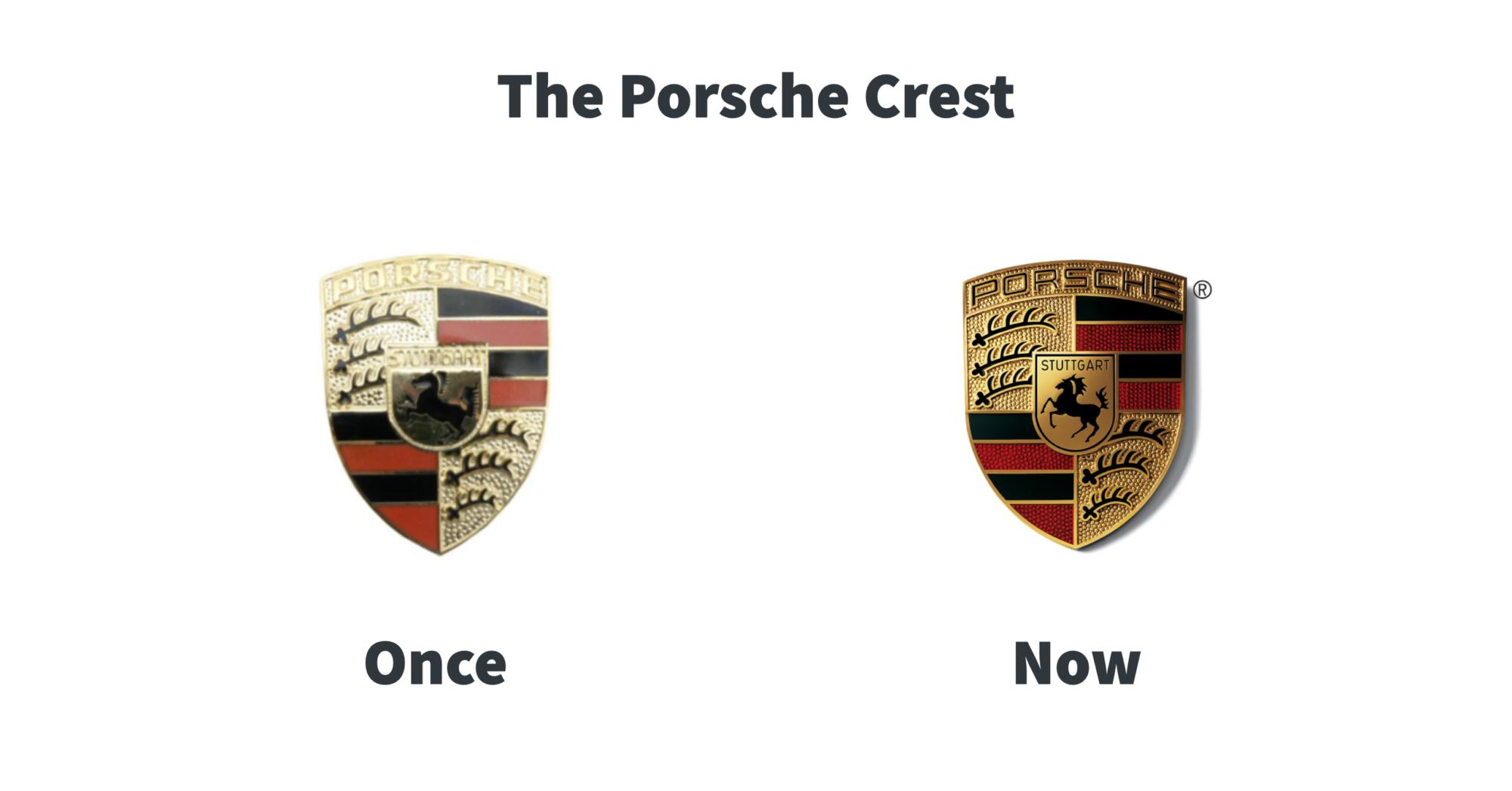 Porsche Crest Evolution