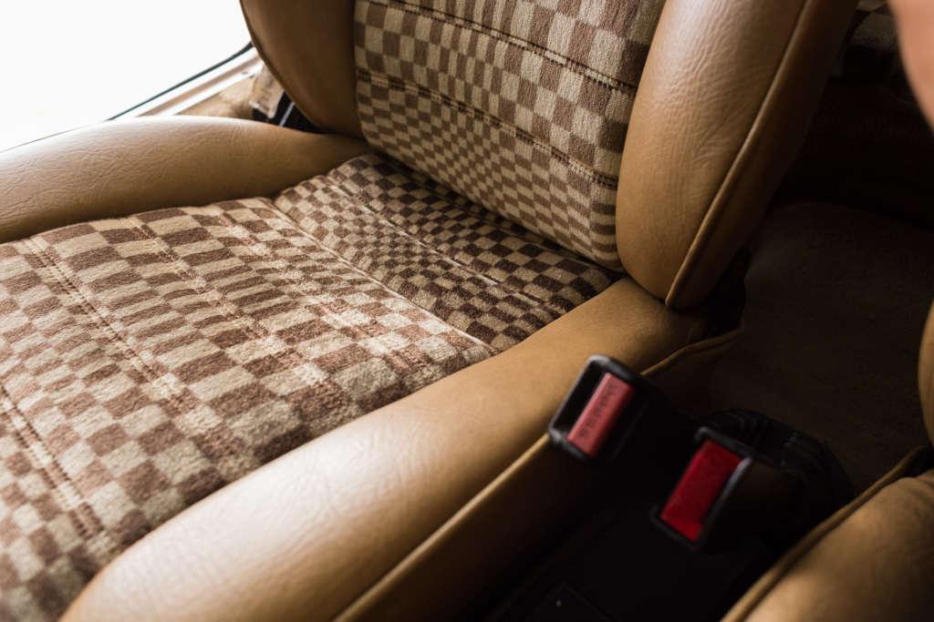 Pascha interior Porsche 911 SC 1982