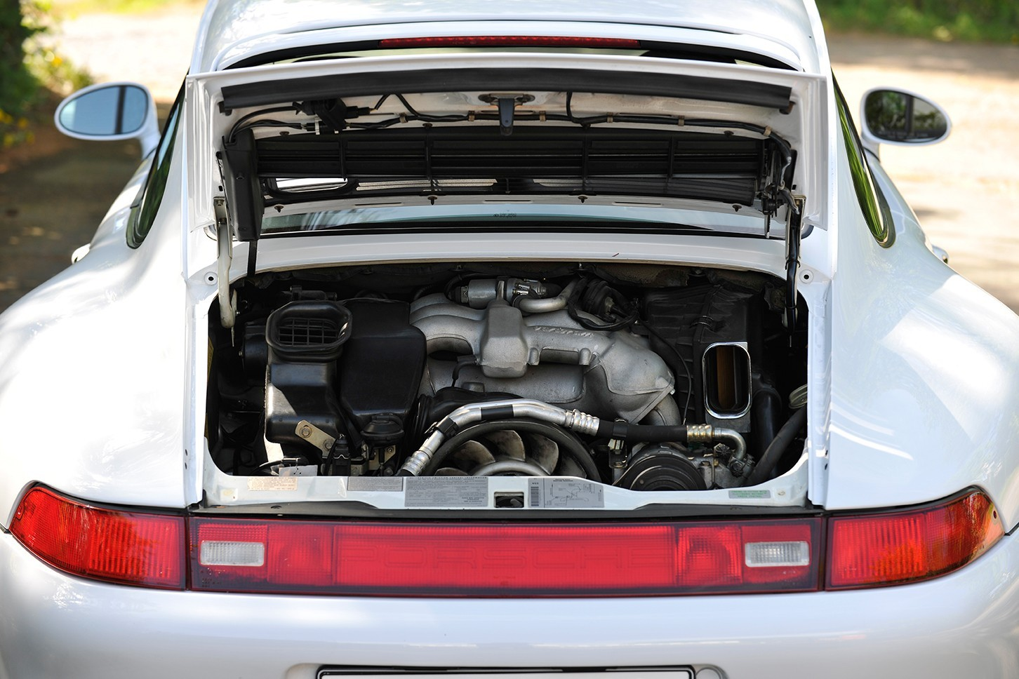 Porsche 993 Carrera engine bay Early 911 S