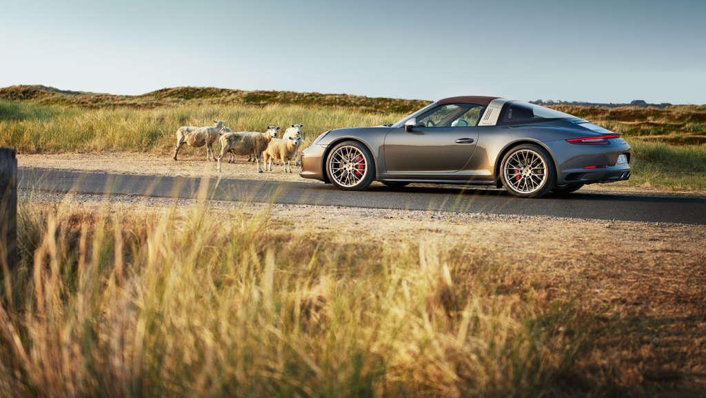 Porsche 911 Targa 4 GTS auf Sylt