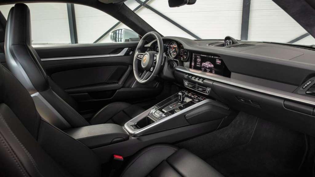 Steering wheel Porsche 992