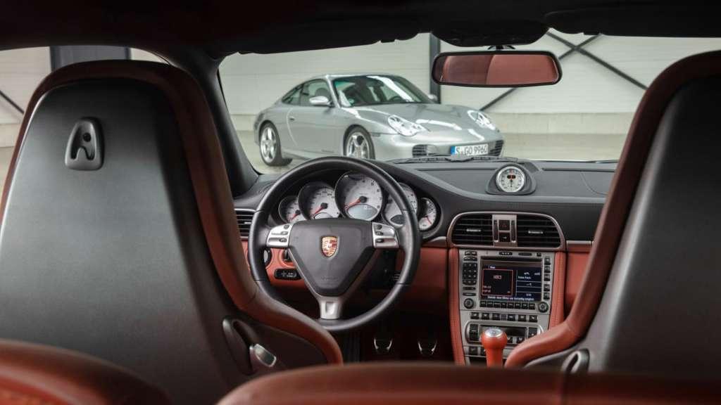 Steering wheel Porsche 997