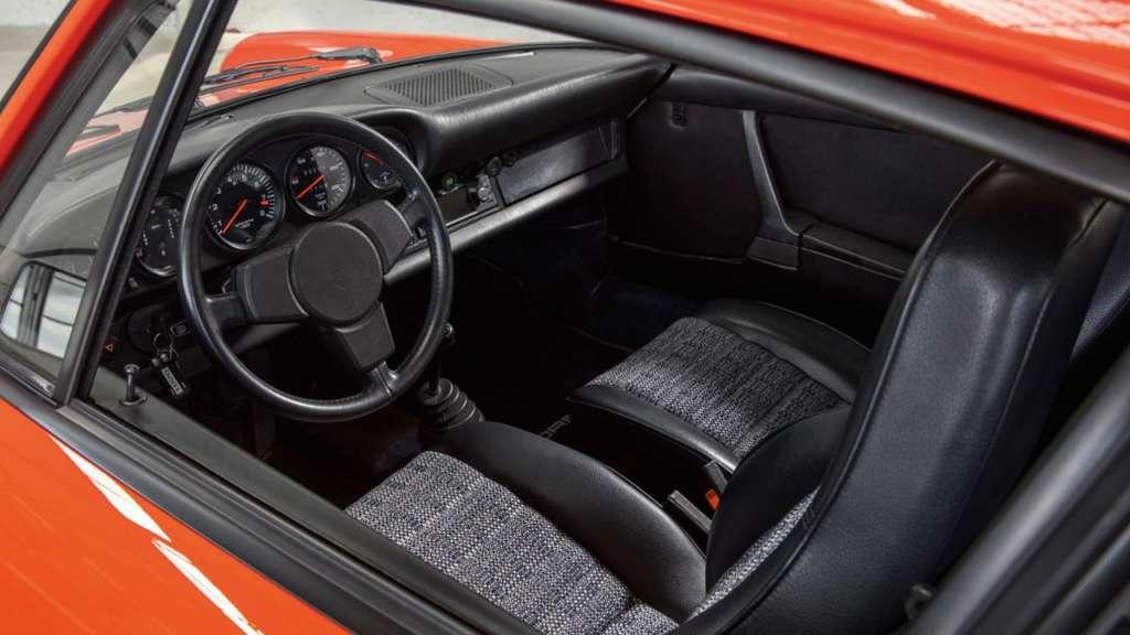 Steering wheel Porsche 911 G-Model