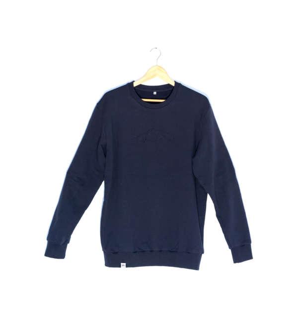 Vintage Porsche Sweater Navy