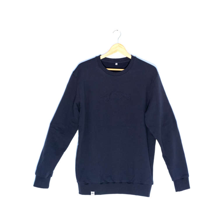 Vintage Porsche Sweater Navy