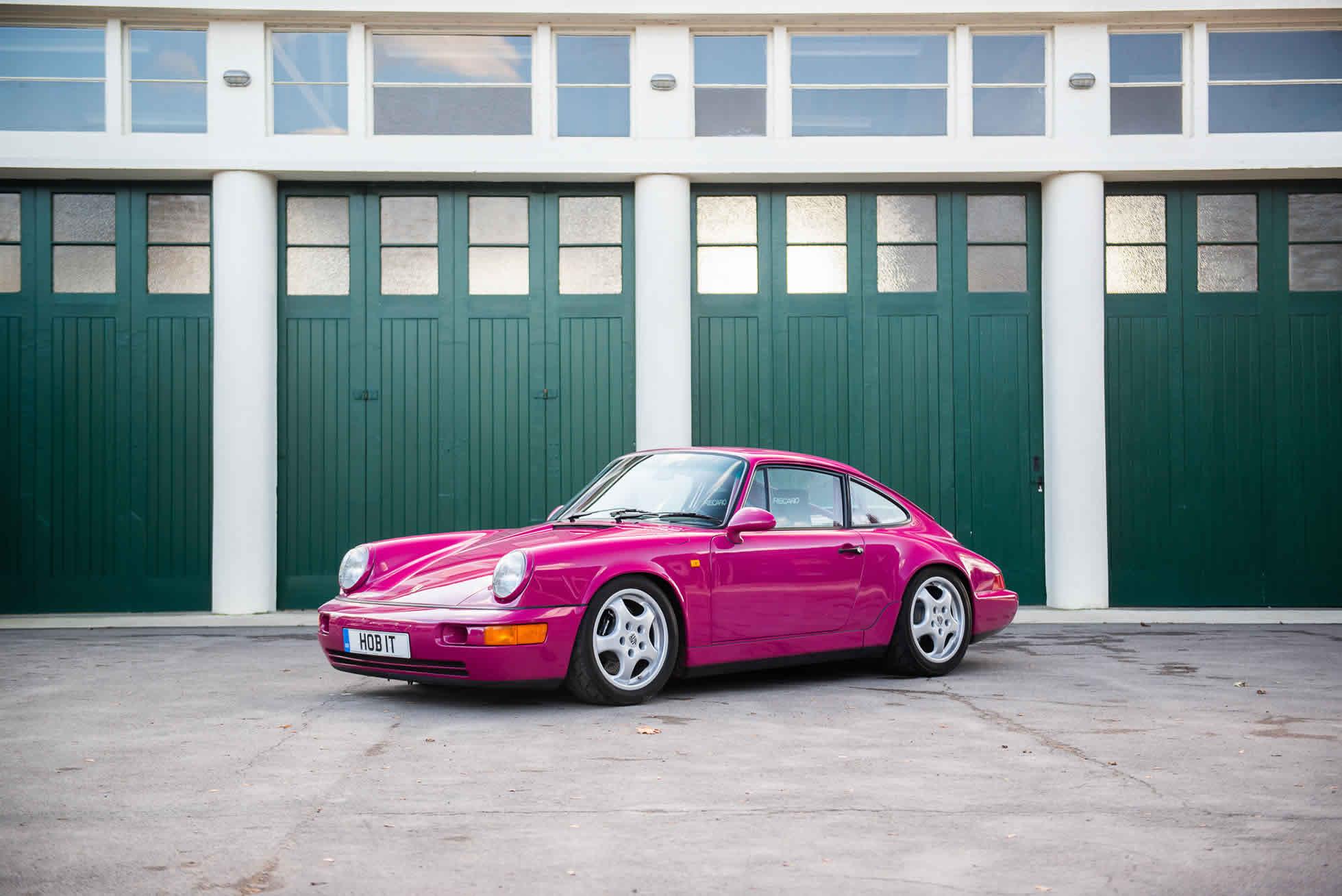 Porsche 964 Carrera RS Clubsport side profile