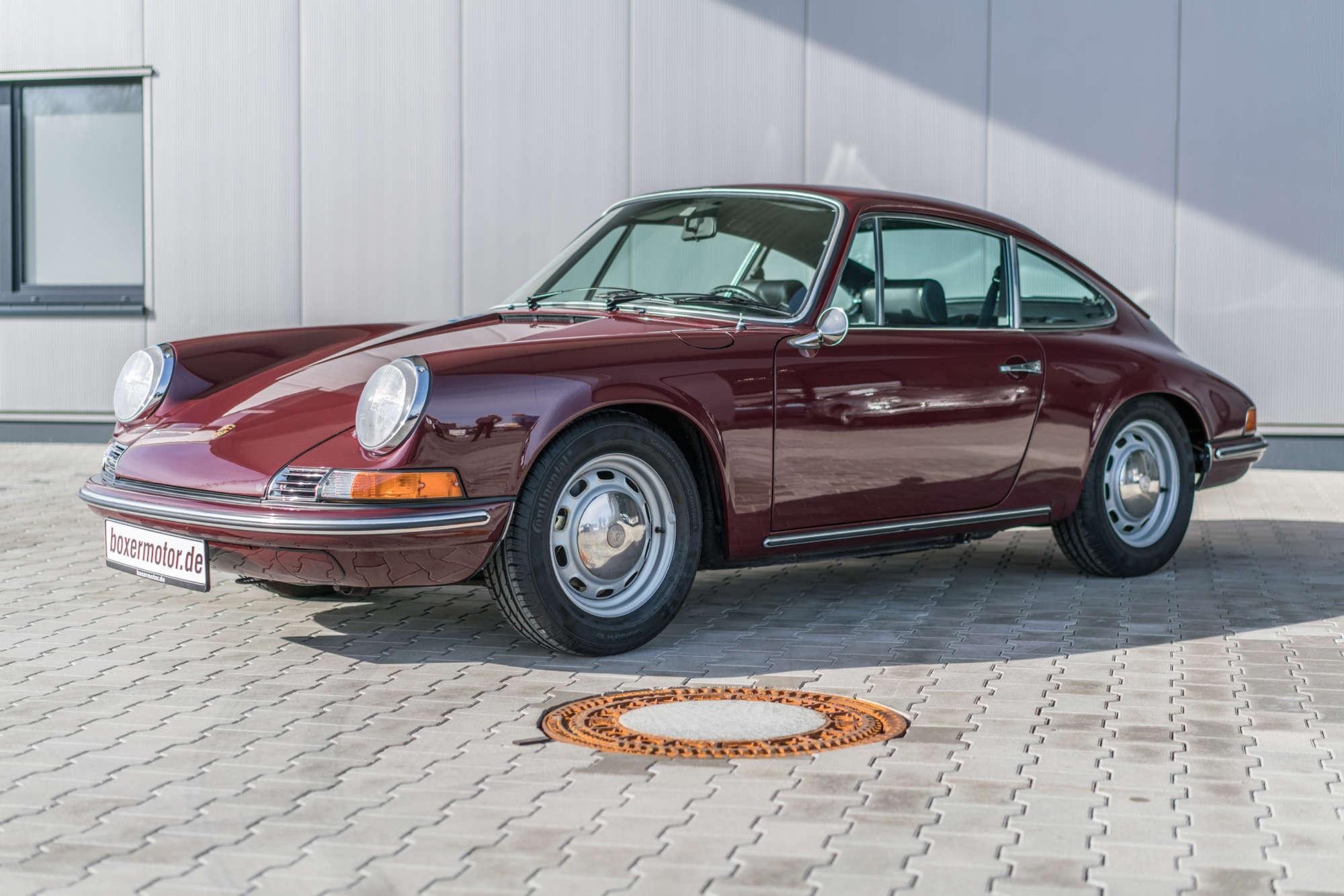 Porsche 912 in Burgundrot kaufen
