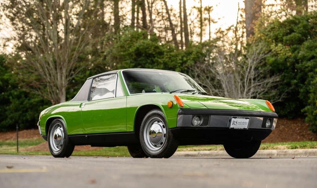 Porsche 914 for sale in green