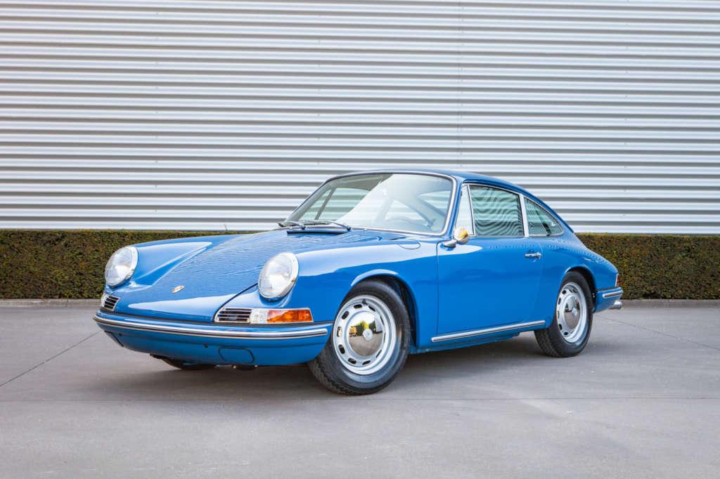 Porsche 911 Oldtimer kaufen in blau