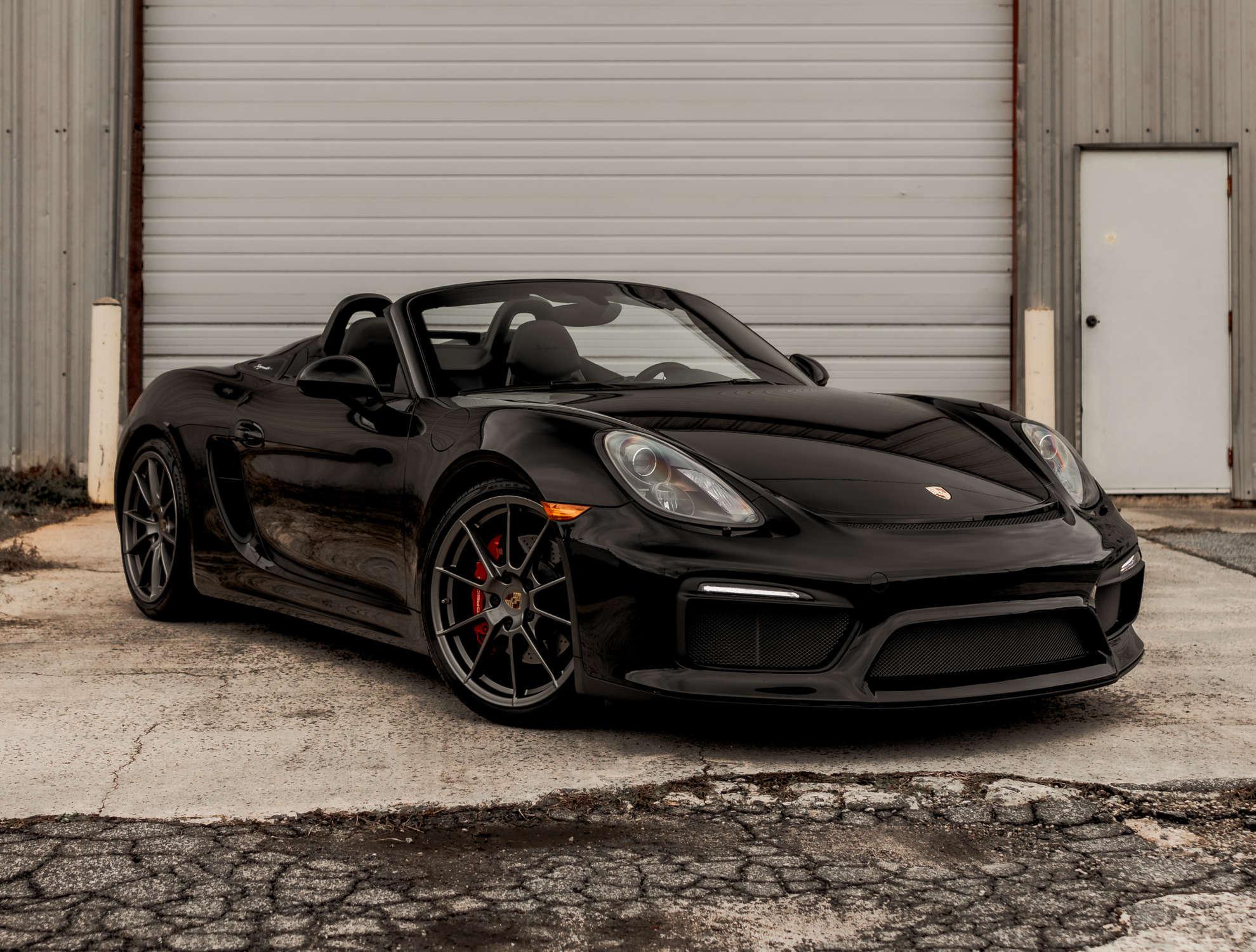 Porsche 981 kaufen in schwarz