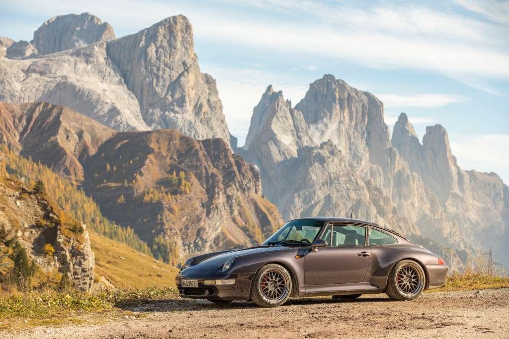 Porsche 993 Carrera S Vesuvio