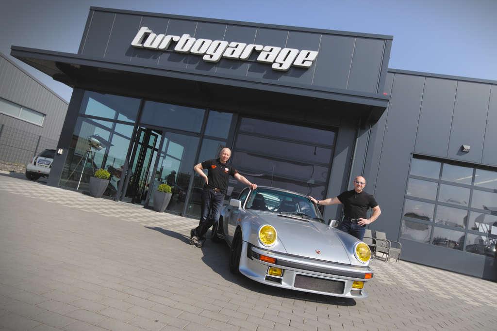 Stefan und Matthias Nonn mit Porsche 930 Turbo Gruppe B