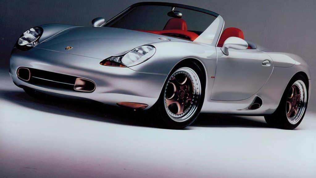 Harm Lagaay Porsche Boxster Detroit Concept