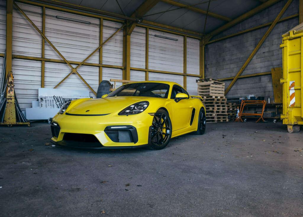 Porsche Cayman GT4 gebraucht kaufen