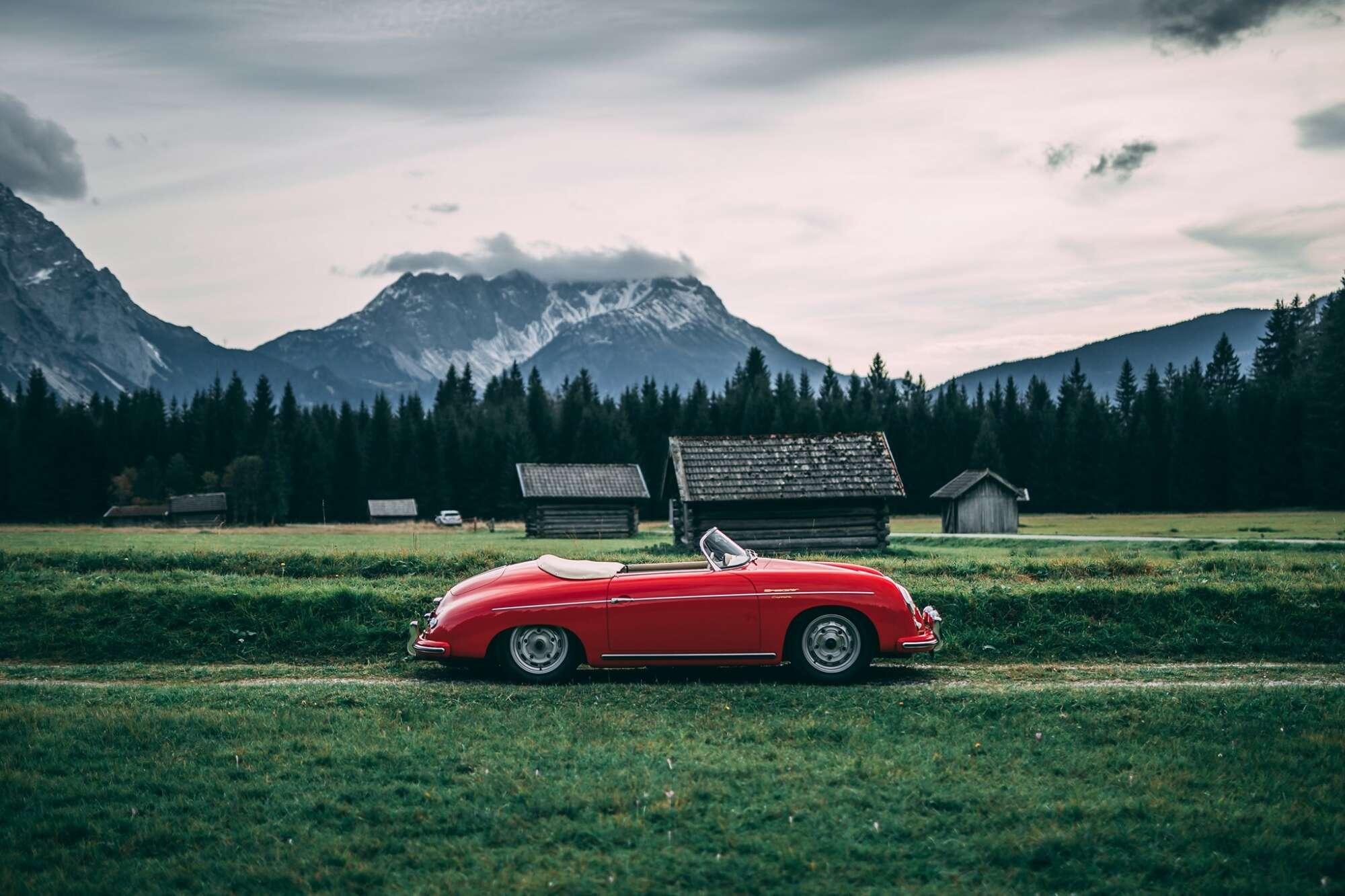 Porsche 356  Carrera Speedster