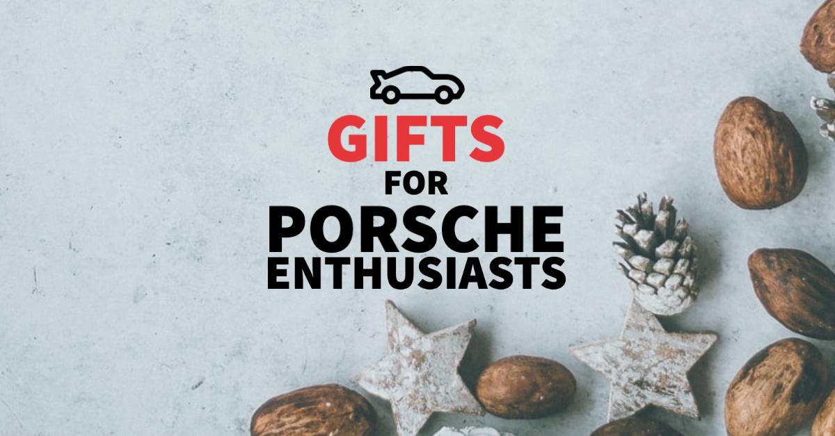 5 Top gifts for Porsche fans