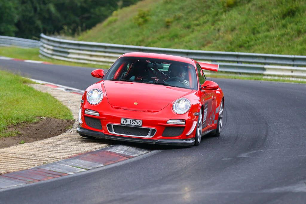 Porsche 997 GT3 RS Guards Red