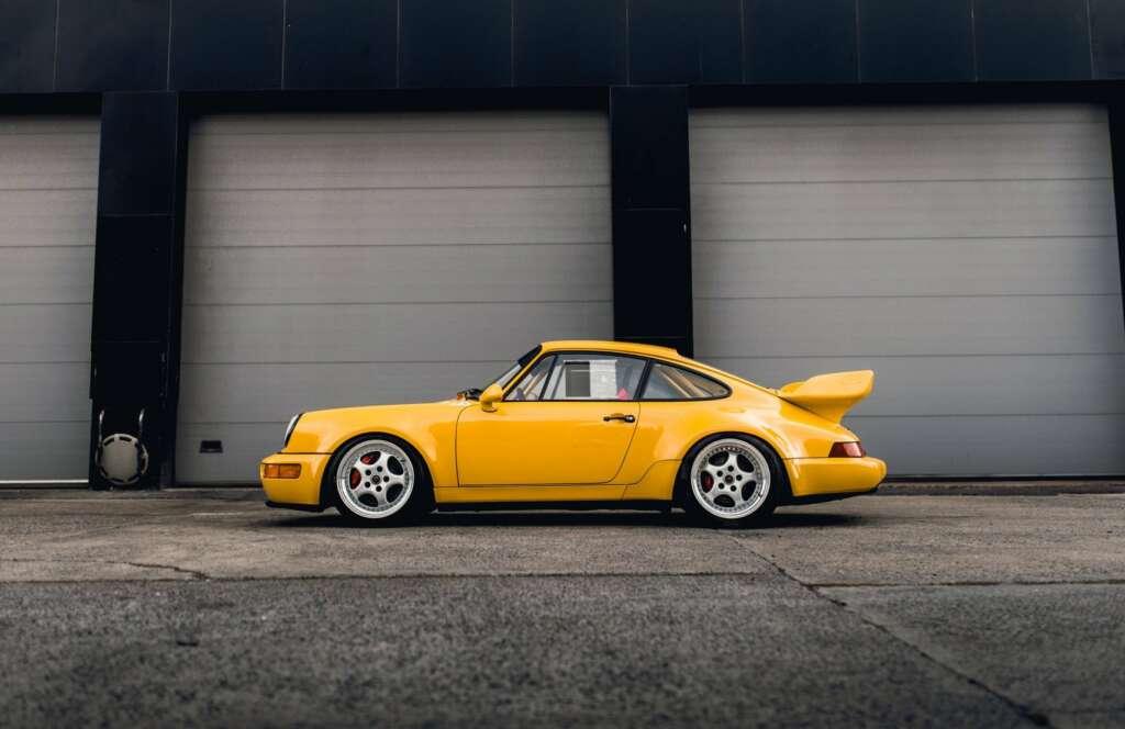 Porsche 911 yellow for sale
