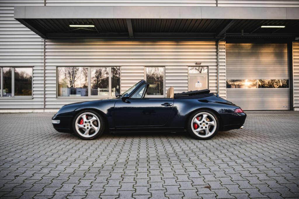 Porsche 993 Cabrio for sale