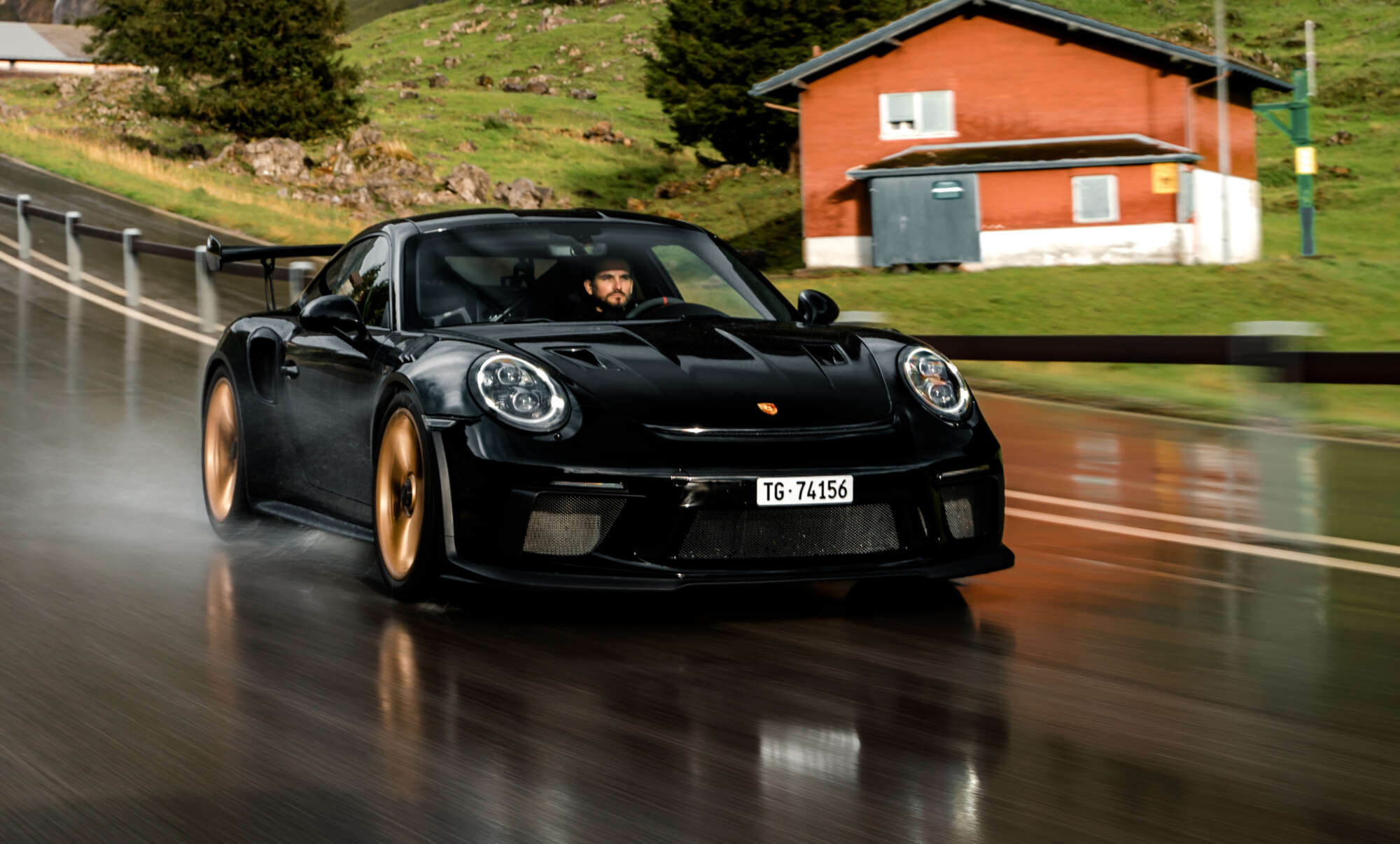 Tim and his <br /> Porsche 911 GT3 RS