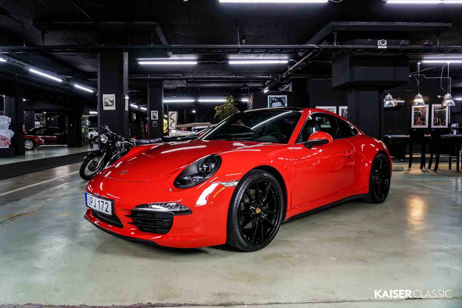 Porsche 991 Carrera 4