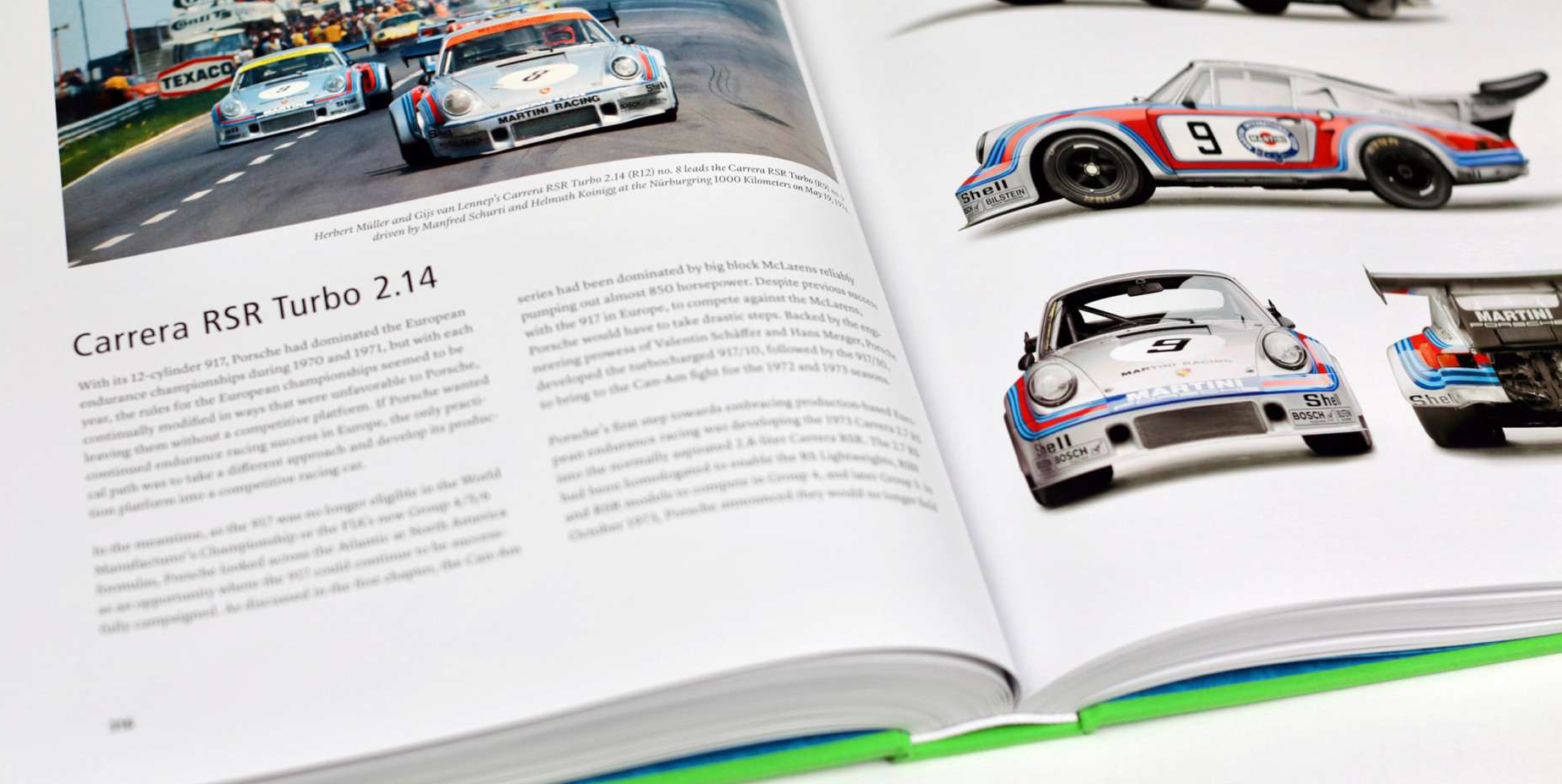 5 really expensive Porsche books, but worth every penny