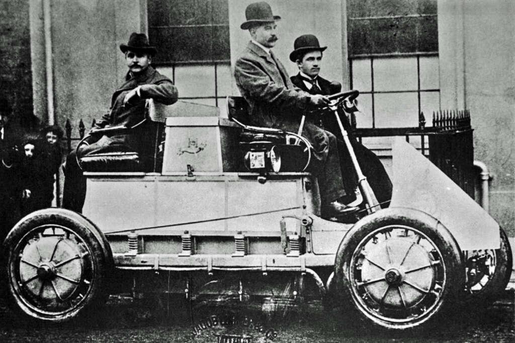 Lohner Porsche first electric Porsche