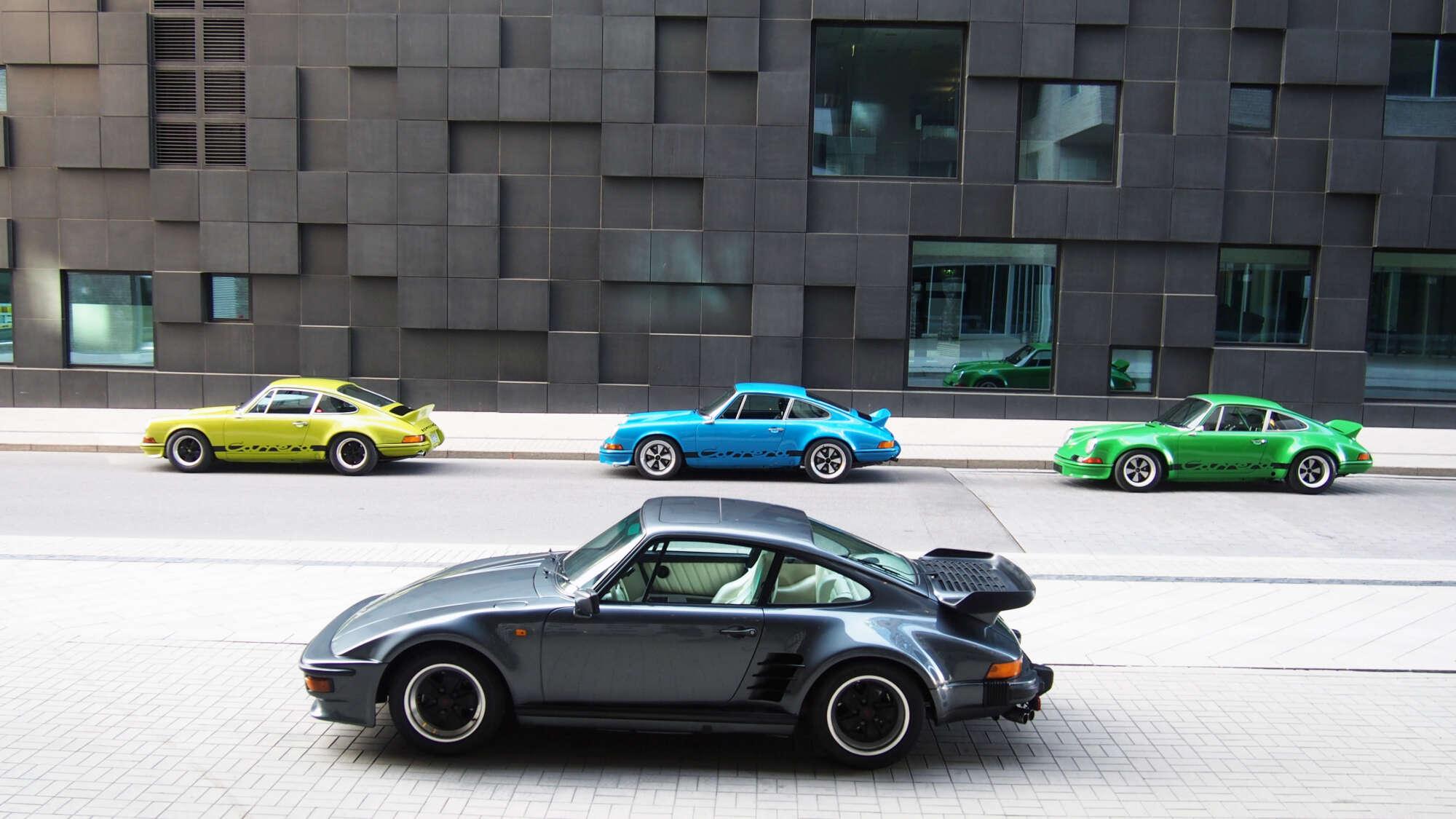 Porsche 911 Turbo Flachbau
